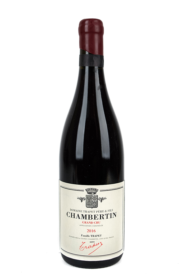 Bottle of Domaine Trapet Pere et Fils, Chambertin Grand Cru, 2016 - Flatiron Wines & Spirits - New York