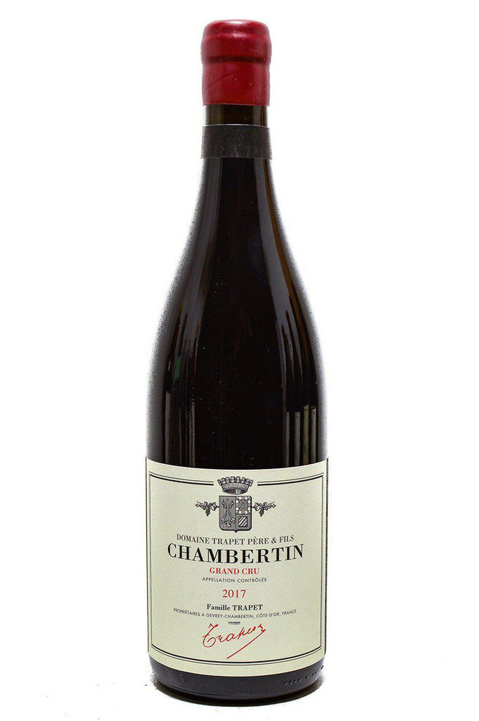 Bottle of Domaine Trapet Pere et Fils, Chambertin Grand Cru, 2017 - Flatiron Wines & Spirits - New York