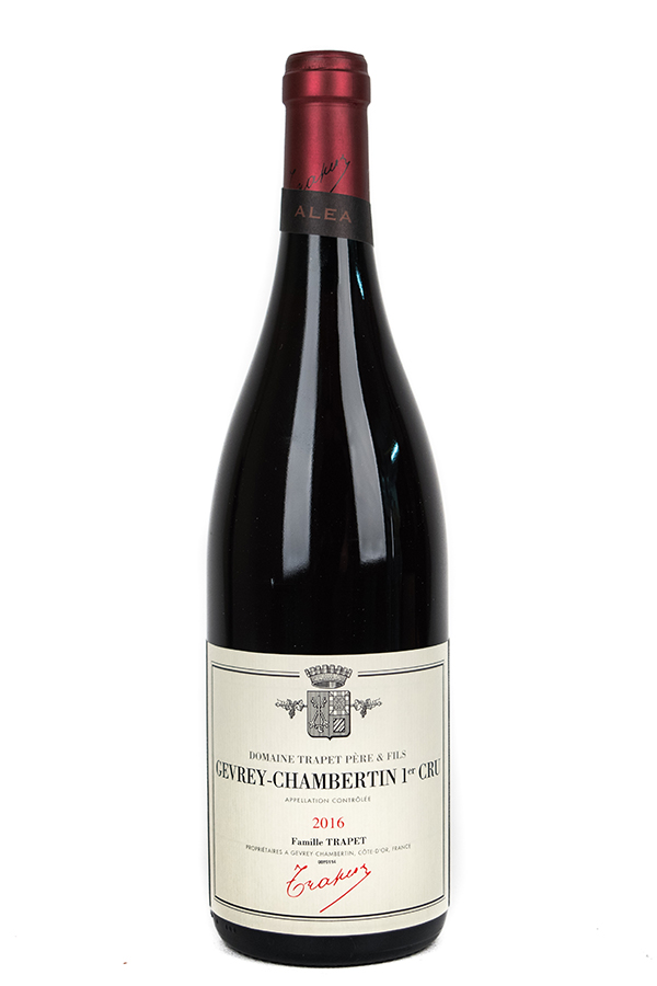 Bottle of Domaine Trapet Pere et Fils, Gevrey-Chambertin 1er Cru Alea, 2016 - Flatiron Wines & Spirits - New York