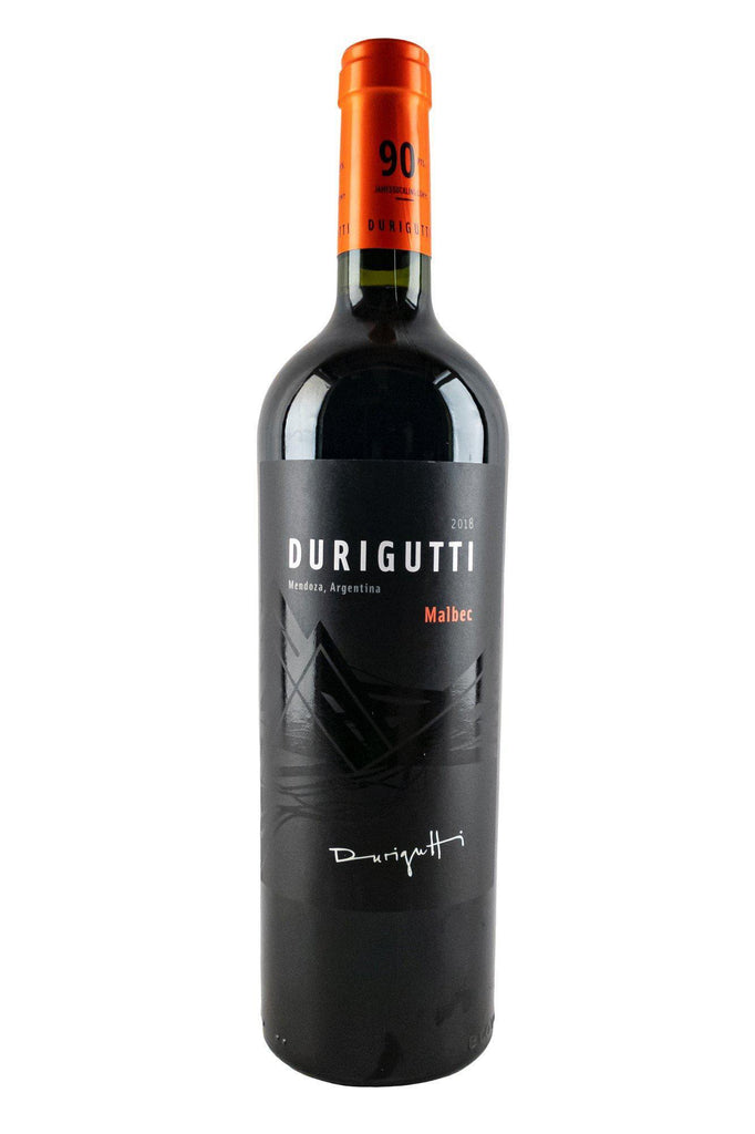 Bottle of Durigutti, Mendoza Malbec, 2018 - Flatiron Wines & Spirits - New York
