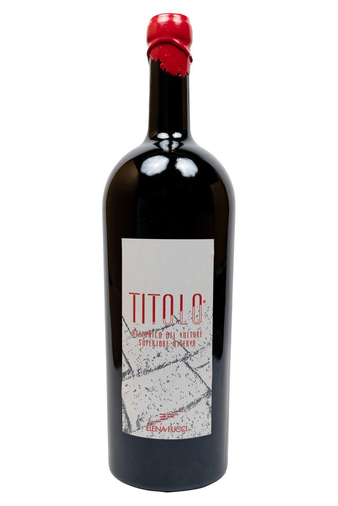 "Bottle of Elena Fucci, Aglianico del Vulture ""Titolo"", 2013 (1.5L) - Flatiron Wines & Spirits - New York"