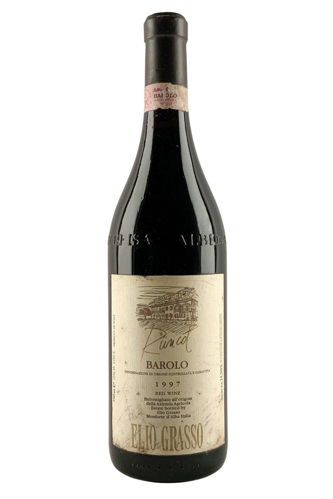 Bottle of Elio Grasso, Barolo Runcot, 1997 - Flatiron Wines & Spirits - New York