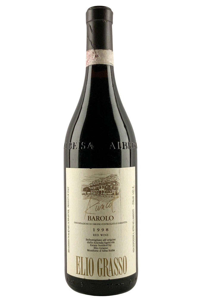 Bottle of Elio Grasso, Barolo Runcot, 1998 - Flatiron Wines & Spirits - New York