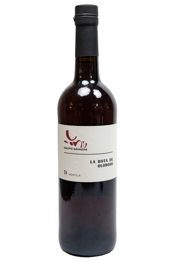 "Bottle of Equipo Navazos, La Bota de Oloroso Montilla ""Bota No""#74, NV - Flatiron Wines & Spirits - New York"
