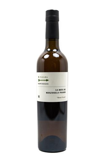 "Bottle of Equipo Navazos, Manzanilla Pasada""La Bota Punta #80"", NV (500ml) - Flatiron Wines & Spirits - New York"