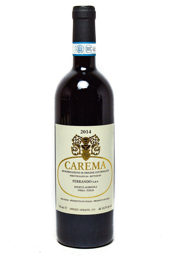 Bottle of Ferrando, Carema Etichetta Bianca (White Label), 2014 - Flatiron Wines & Spirits - New York