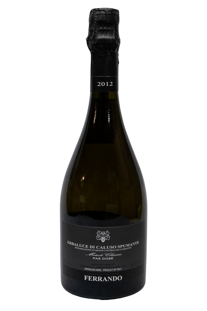 Bottle of Ferrando, Erbaluce di Caluso Spumante Metodo Classico Brut, 2012 - Flatiron Wines & Spirits - New York