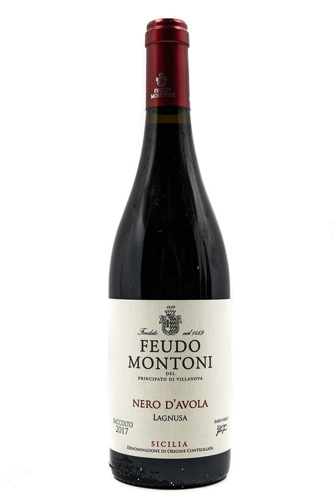 Bottle of Feudo Montoni , Nero d'Avola Vigna Lagnusa, 2017 - Flatiron Wines & Spirits - New York