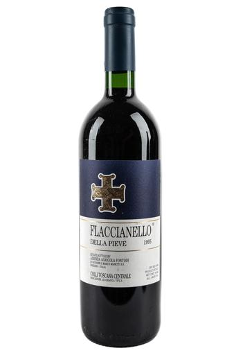 "Bottle of Fontodi, ""Flaccianello della Pieve"", 1995 - Flatiron Wines & Spirits - New York"