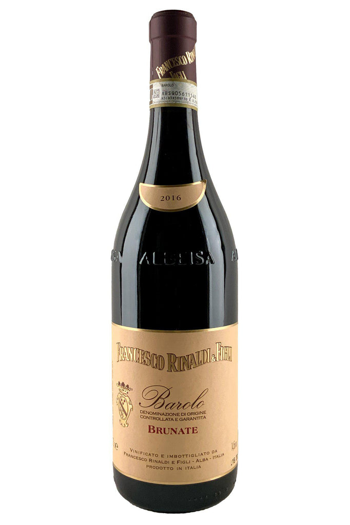 Bottle of Francesco Rinaldi, Barolo Brunate, 2016 - Flatiron Wines & Spirits - New York