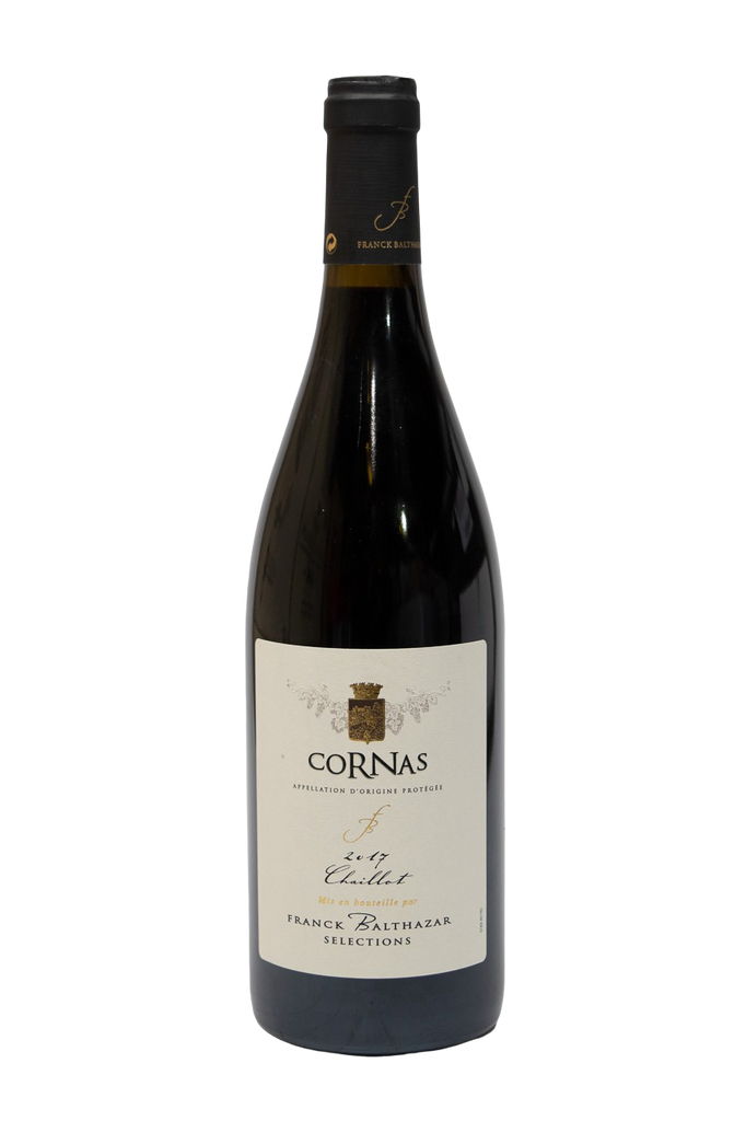Bottle of Franck Balthazar, Cornas Chaillot, 2017 - Flatiron Wines & Spirits - New York