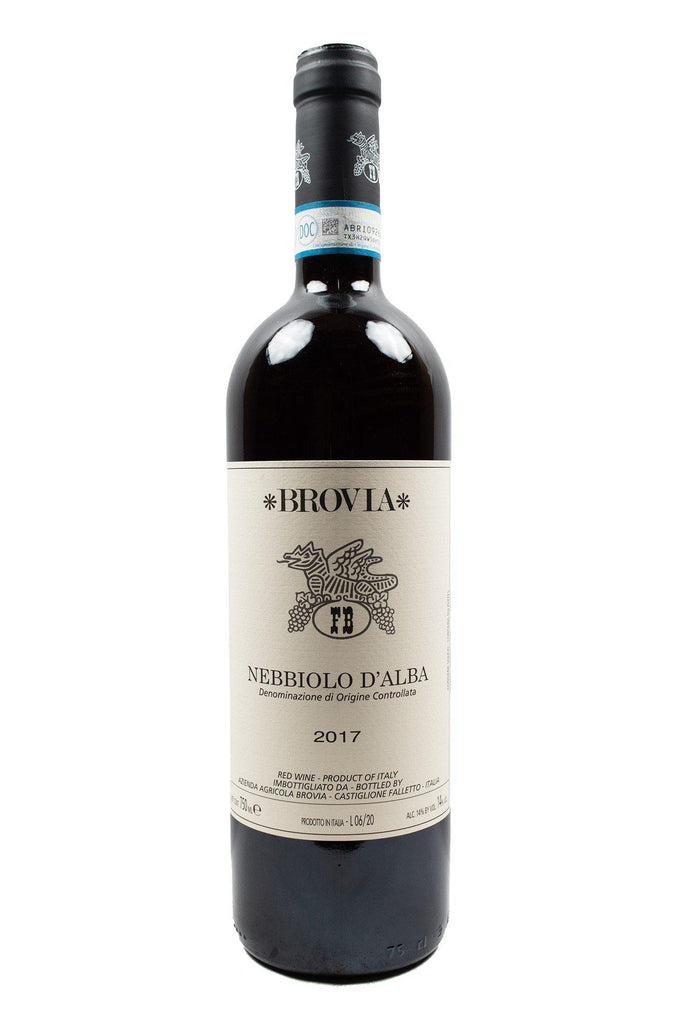 Bottle of Fratelli Brovia, Nebbiolo D'Alba, 2017 - Flatiron Wines & Spirits - New York