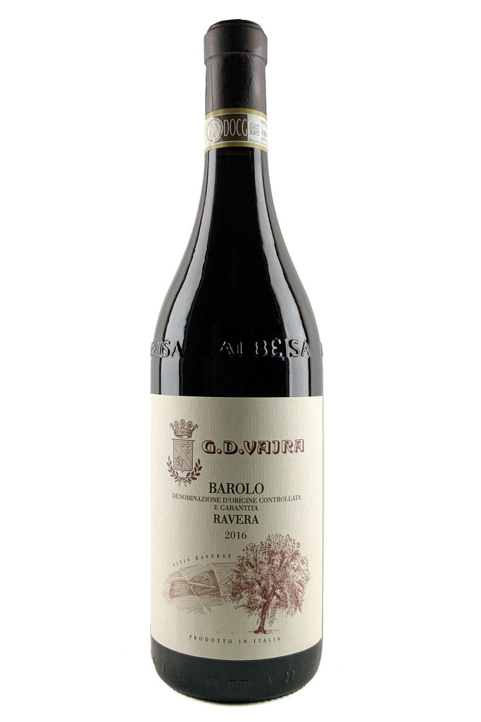 Bottle of G.D. Vajra, Barolo Ravera, 2016 - Flatiron Wines & Spirits - New York