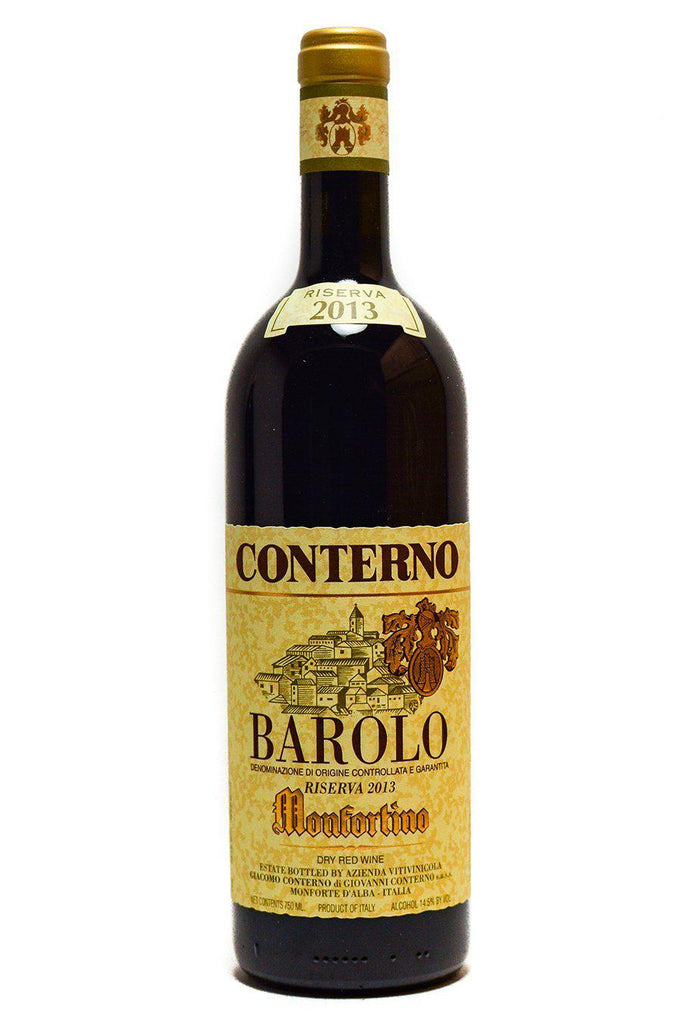 "Bottle of Giacomo Conterno, Barolo ""Monfortino"", 2013 - Flatiron Wines & Spirits - New York"