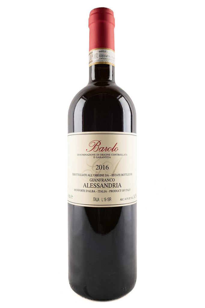Bottle of Gianfranco Alessandria, Barolo, 2016 - Flatiron Wines & Spirits - New York