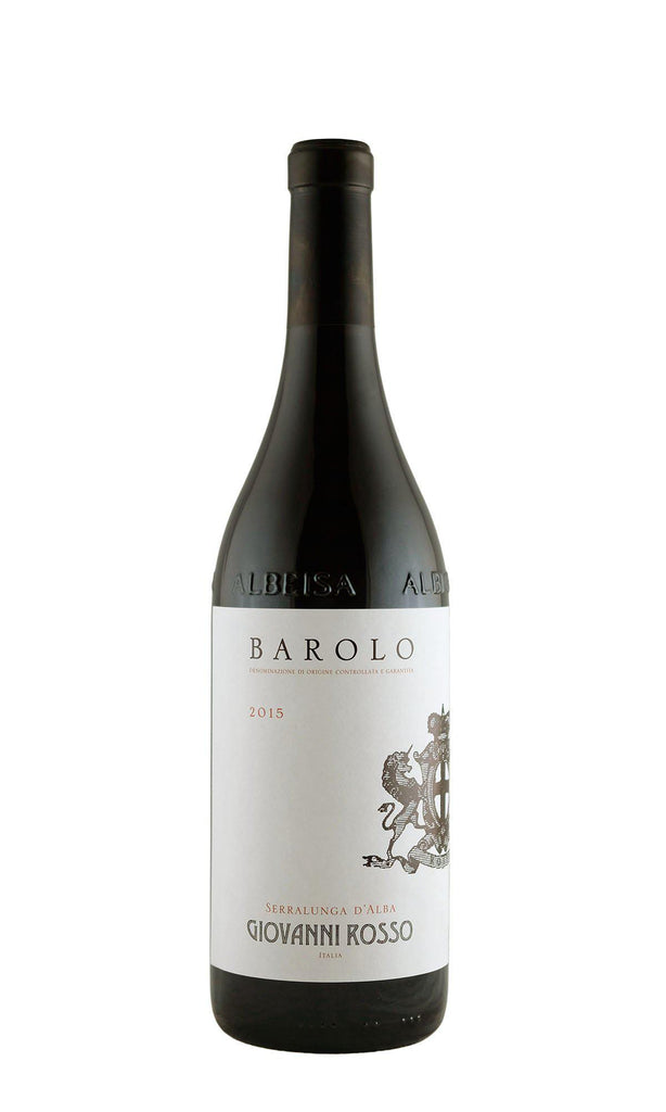Bottle of Giovanni Rosso, Barolo, 2015 - Flatiron Wines & Spirits - New York