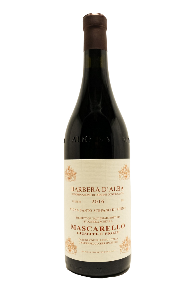 Bottle of Giuseppe Mascarello, Barbera Santa Stefano di Perno, 2016 - Flatiron Wines & Spirits - New York