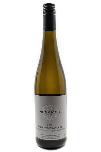 Bottle of Hexamer, Meddersheimer Rheingrafenberg Riesling Spatlese, 2017 - Flatiron Wines & Spirits - New York