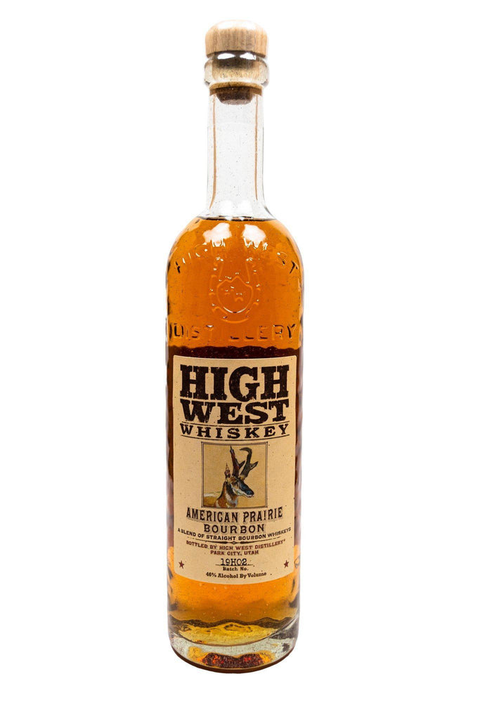 Bottle of High West, American Prairie Bourbon-Flatiron Wines & Spirits - New York