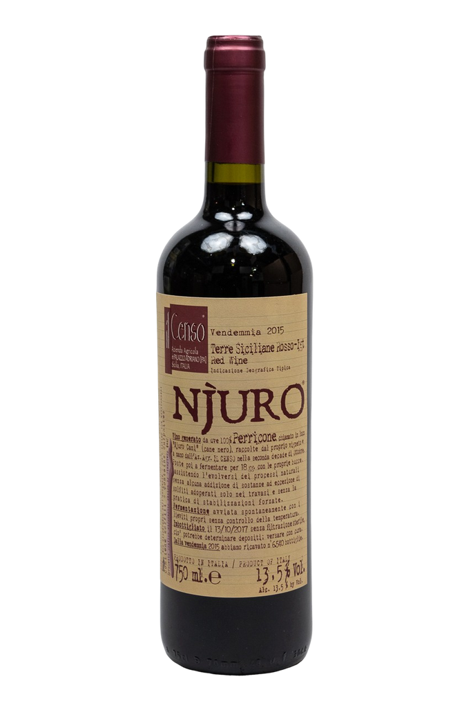 "Bottle of Il Censo, Perricone ""Njuro"", 2015 - Flatiron Wines & Spirits - New York"
