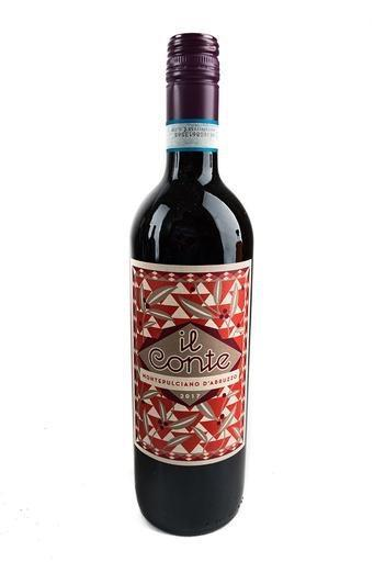 Bottle of Il Conte, Montepulciano d'Abruzzo, 2018 - Flatiron Wines & Spirits - New York