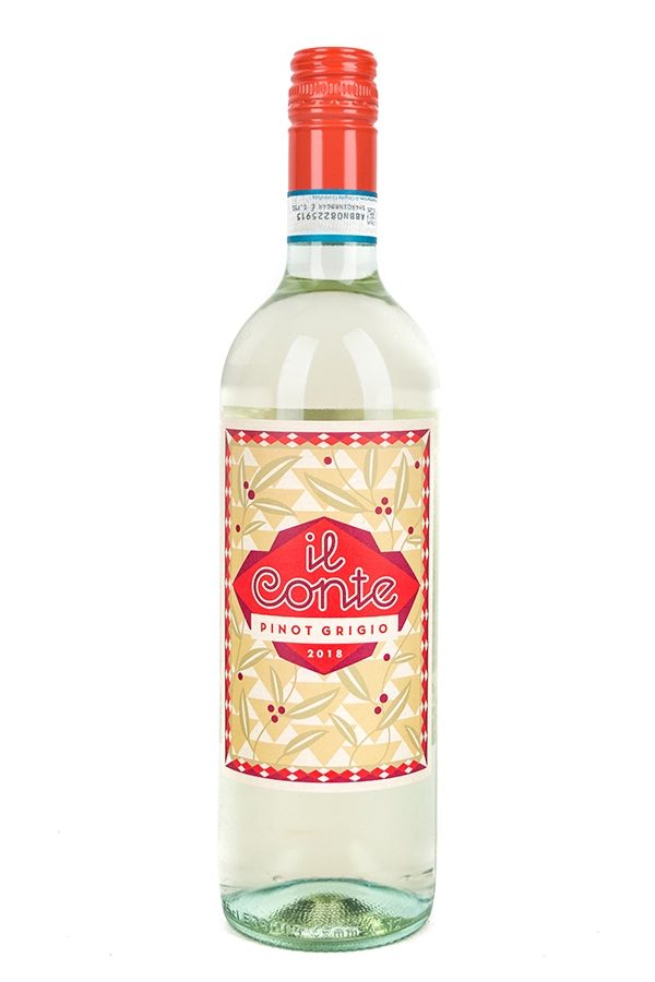 Bottle of Il Conte, Pinot Grigio, 2018 - Flatiron Wines & Spirits - New York
