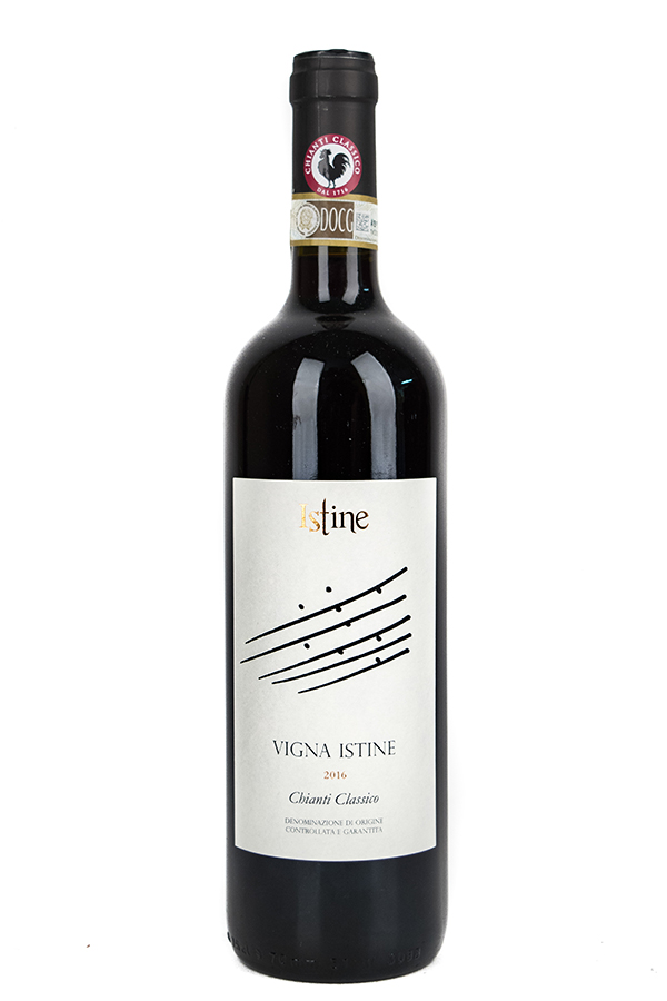 Bottle of Istine, Chianti Classico Vigna Istine, 2016 - Flatiron Wines & Spirits - New York