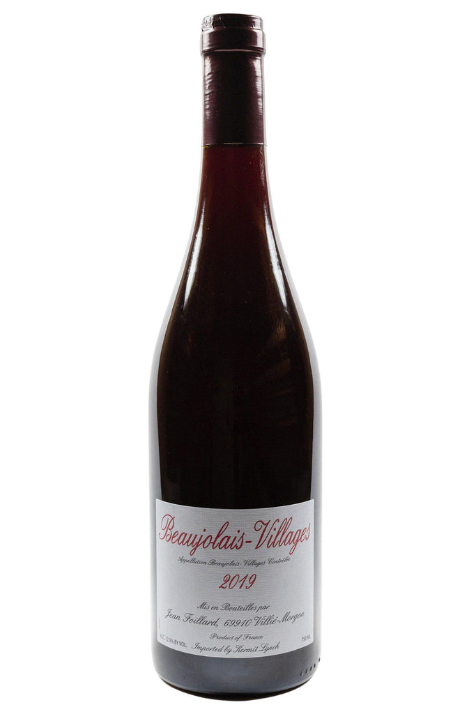 Bottle of Jean Foillard, Beaujolais-Villages, 2019 - Flatiron Wines & Spirits - New York