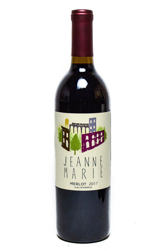 Bottle of Jeanne Marie, Merlot, 2017 - Flatiron Wines & Spirits - New York
