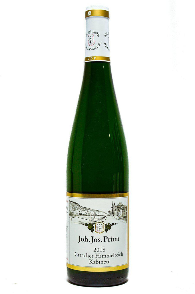 Bottle of JJ Prum, Riesling Kabinett Graacher Himmelreich, 2018 - Flatiron Wines & Spirits - New York