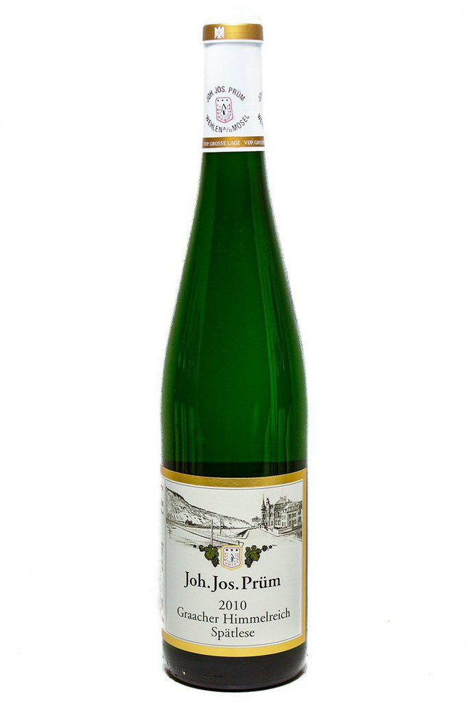 Bottle of JJ Prum, Riesling Spatlese Graacher Himmelreich, 2010 - Flatiron Wines & Spirits - New York