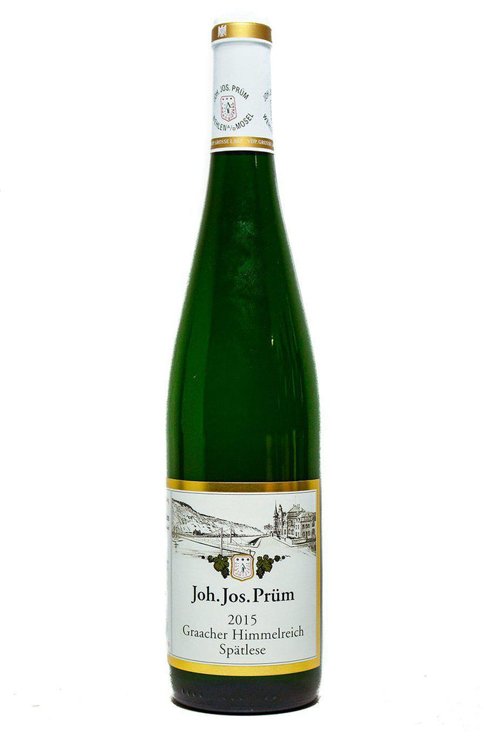 Bottle of JJ Prum, Riesling Spatlese Graacher Himmelreich, 2015 - Flatiron Wines & Spirits - New York