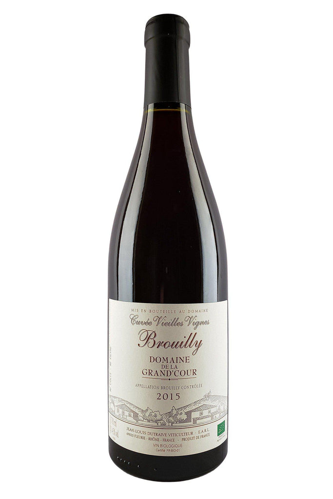 Bottle of J.L. Dutraive (Grand'Cour), Brouilly Vieilles Vignes, 2015 - Flatiron Wines & Spirits - New York