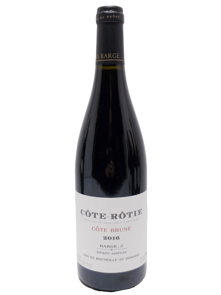 "Bottle of Julien Barge, Cote-Rotie ""Cote Brune"", 2016 - Flatiron Wines & Spirits - New York"