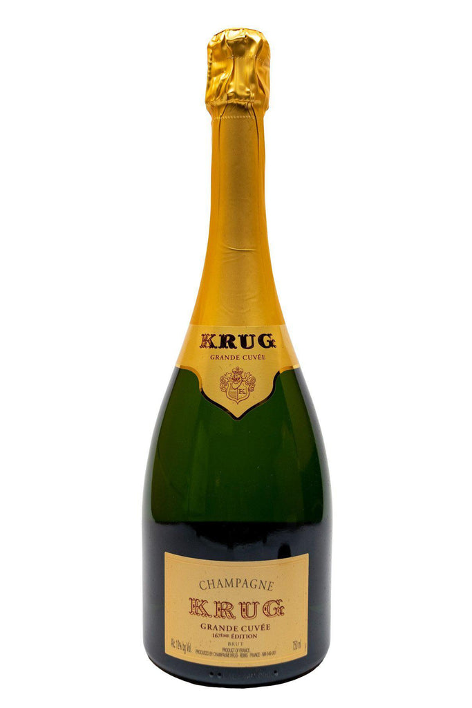 "Bottle of Krug, Champagne ""Grande Cuvee"" 167th Edition, NV - Flatiron Wines & Spirits - New York"