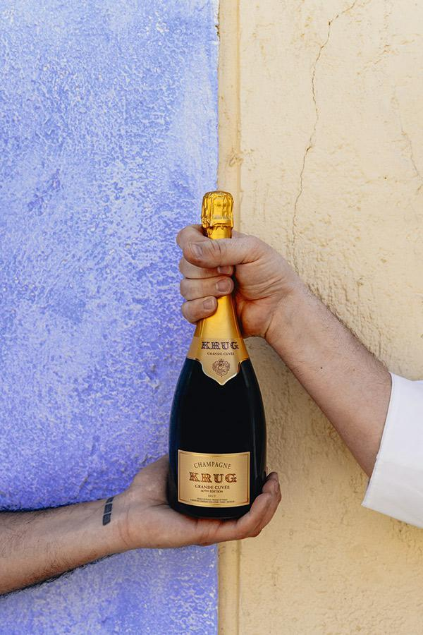 "Bottle of Krug, Champagne ""Grande Cuvee"" 168th Edition, NV - Flatiron Wines & Spirits - New York"