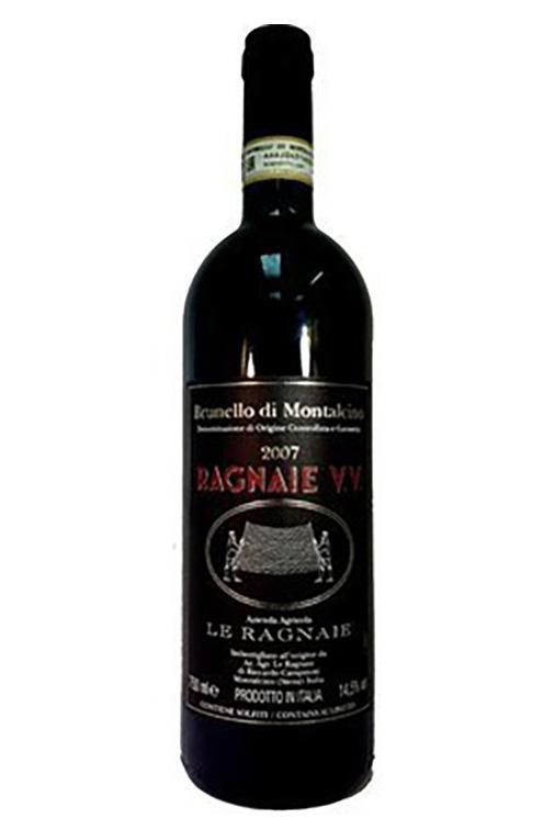 Bottle of Le Ragnaie, Brunello di Montalcino VV, 2015 - Flatiron Wines & Spirits - New York