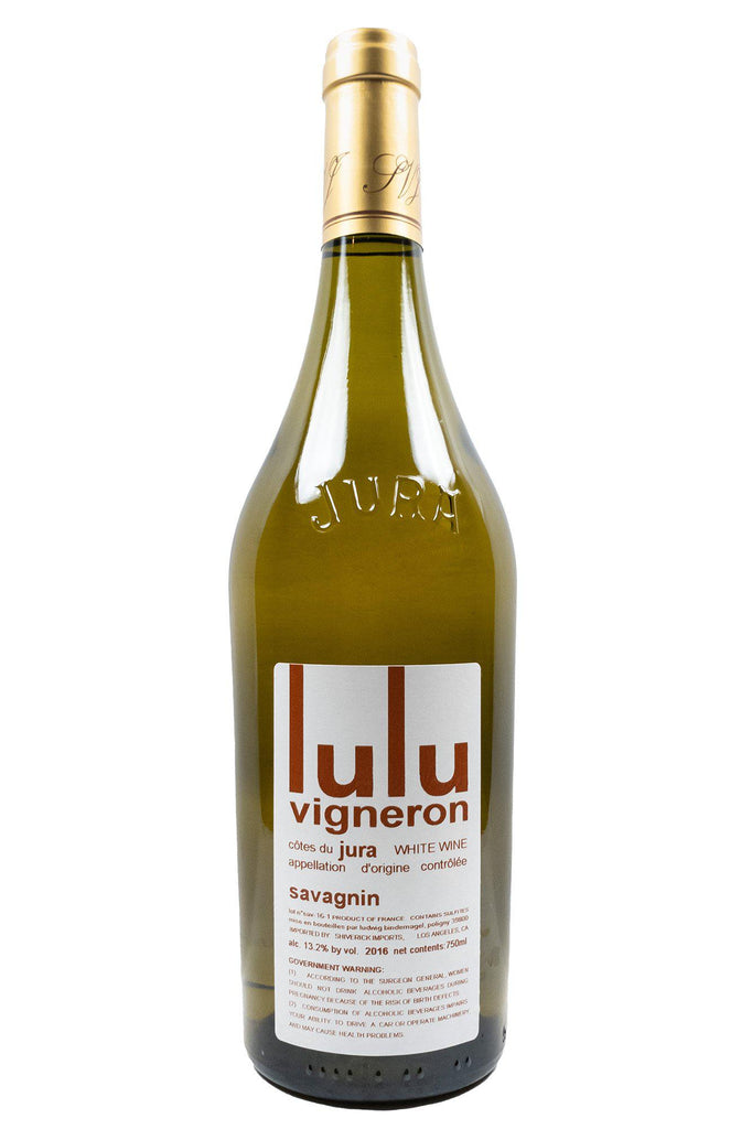 Bottle of Les Chais du Vieux Bourg (Lulu Vigneron), Cotes du Jura Savagnin, 2016 - Flatiron Wines & Spirits - New York
