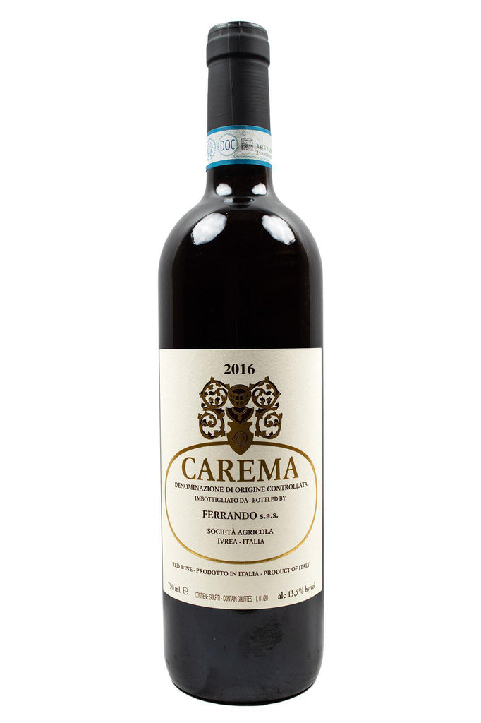 "Bottle of Luigi Ferrando, Carema ""Etichetta Bianca"" (White Label), 2016 - Flatiron Wines & Spirits - New York"