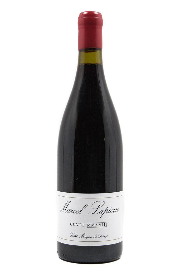 "Bottle of Marcel Lapierre, Morgon ""Cuvee Marcel Lapierre"", 2018 - Flatiron Wines & Spirits - New York"