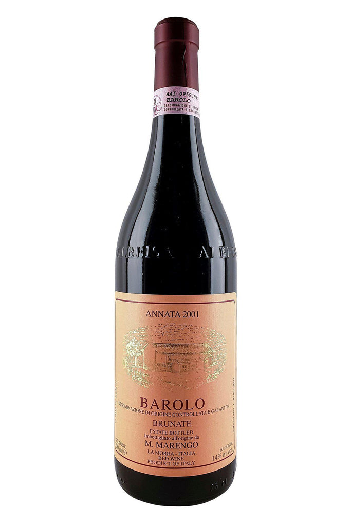 Bottle of Marengo, Barolo Brunate, 2001 - Flatiron Wines & Spirits - New York