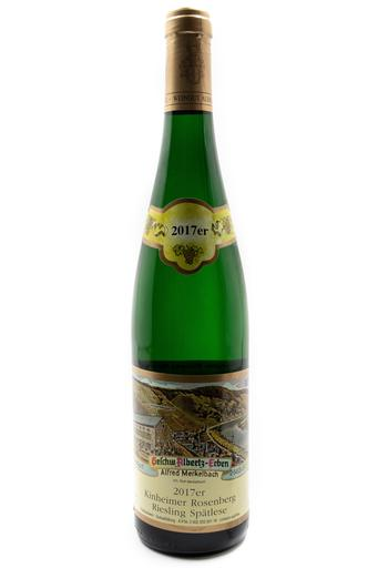 Bottle of Merkelbach, Kinheimer Rosenberg Riesling Spatlese #1, 2017 - Flatiron Wines & Spirits - New York