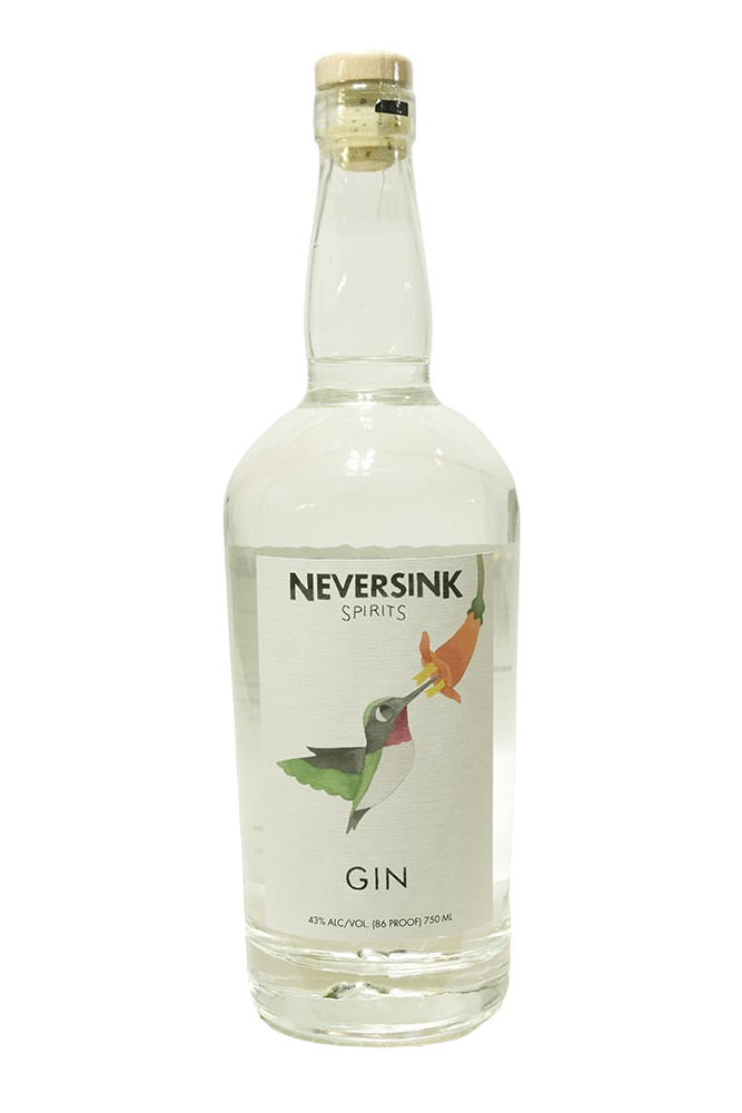 Bottle of Neversink Spirits, Gin - Flatiron Wines & Spirits - New York