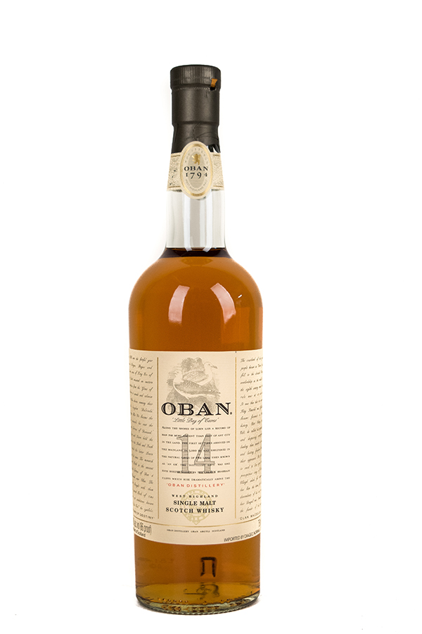 Bottle of Oban, Single Malt Scotch, 14 Year-Flatiron Wines & Spirits - New York