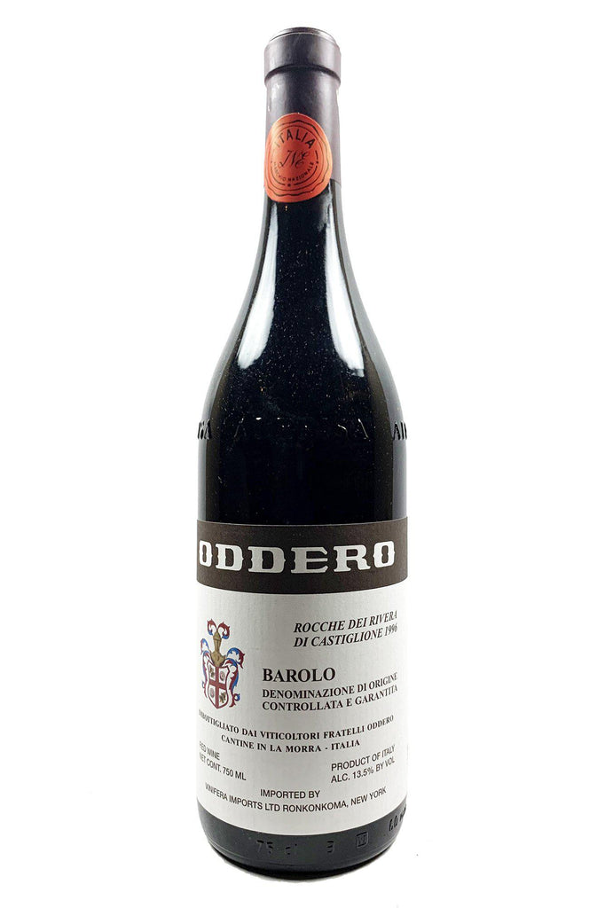 "Bottle of Oddero, Barolo ""Rivera di Castiglione"", 1996 - Flatiron Wines & Spirits - New York"