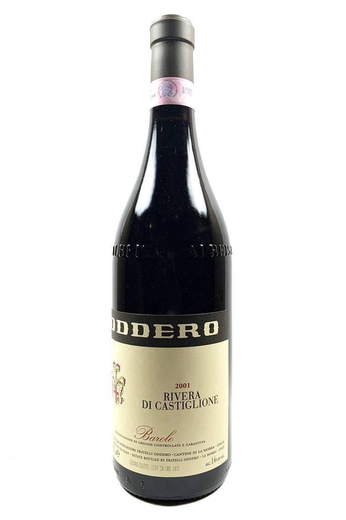 "Bottle of Oddero, Barolo ""Rivera di Castiglione"", 2001 - Flatiron Wines & Spirits - New York"