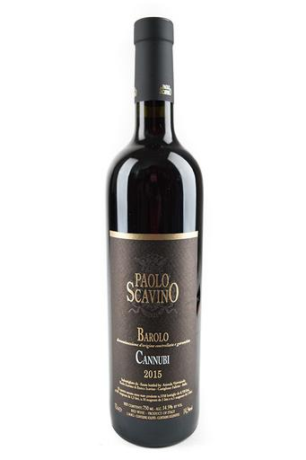 Bottle of Paolo Scavino, Barolo Cannubi, 2015 - Flatiron Wines & Spirits - New York