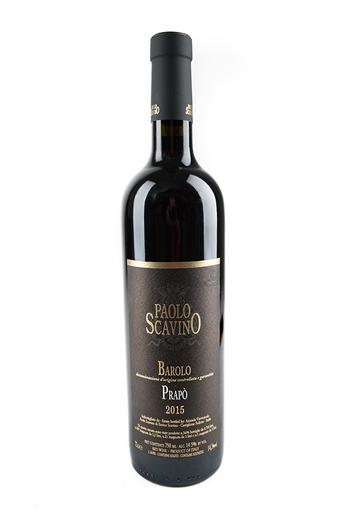 "Bottle of Paolo Scavino, Barolo ""Prapo"", 2015 - Flatiron Wines & Spirits - New York"