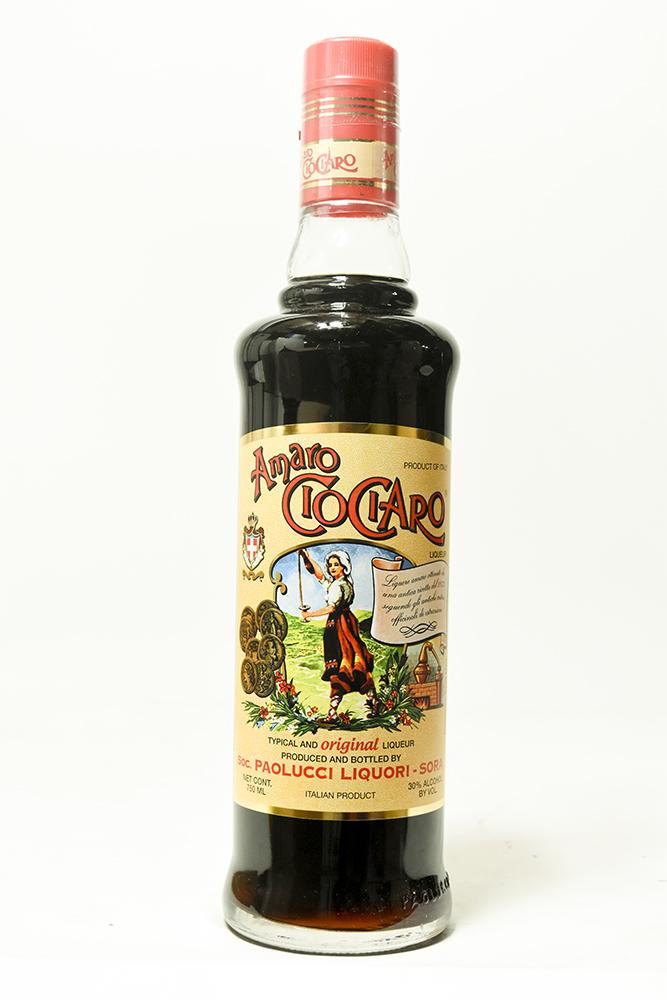 Bottle of Paolucci, Amaro CioCiaro - Flatiron Wines & Spirits - New York