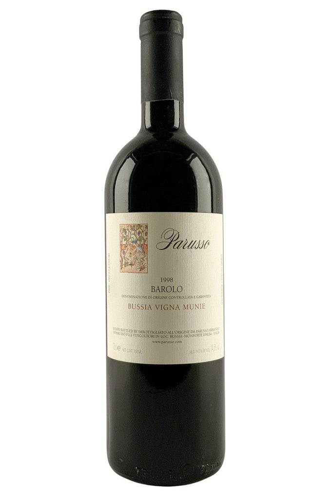 Bottle of Parusso, Barolo Bussia Munie, 1998 - Flatiron Wines & Spirits - New York